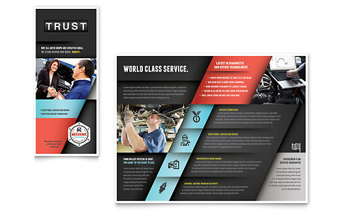 Auto Mechanic - Brochure Template