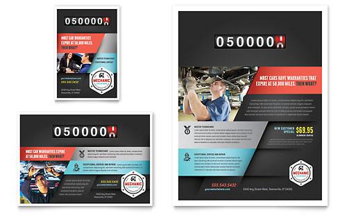 Auto Mechanic - Flyer & Ad Template