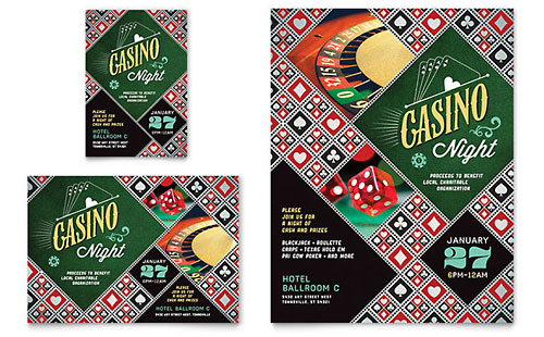 Casino Night - Flyer & Ad Template