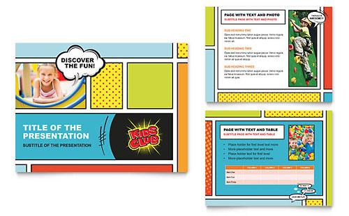 Kids Club PowerPoint Presentation Template