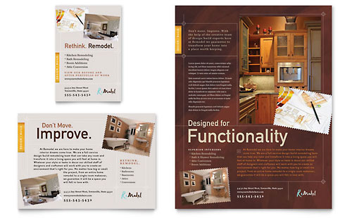 Home Remodeling Flyer & Ad Template