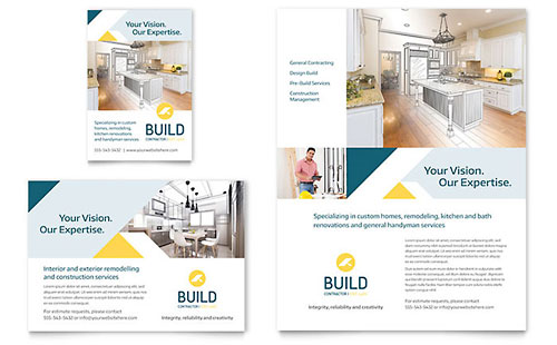 Construction Print Ads Templates Amp Designs