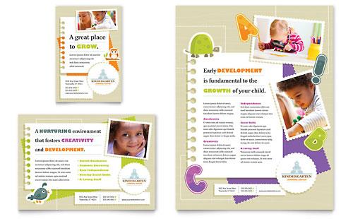Kindergarten - Flyer & Ad Template