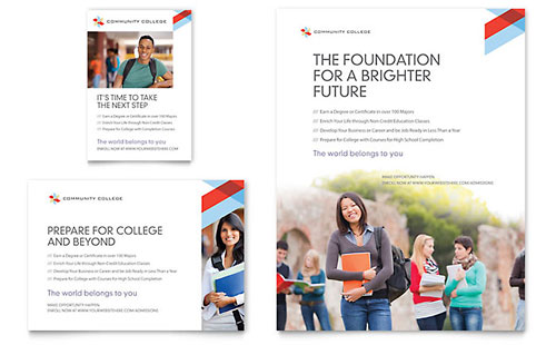 Community College Flyer & Ad Template
