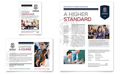 High School Flyer & Ad Template