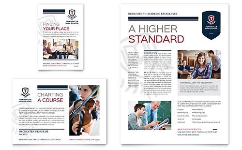 High School Flyer & Ad Template