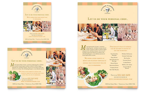 Catering Company Flyer & Ad Template