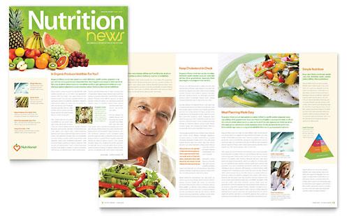 Nutritionist & Dietitian Newsletter Template