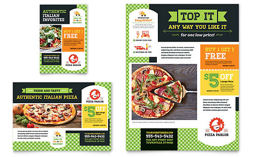 Food Amp Beverage Print Ads Templates Amp Designs