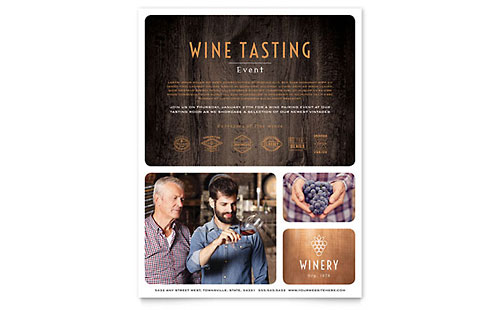 Winery - Leaflet Template