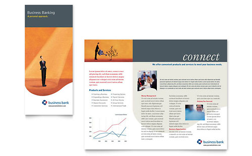 Business Bank - Brochure Template
