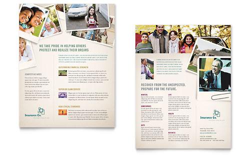 Life Insurance Company Datasheet Template