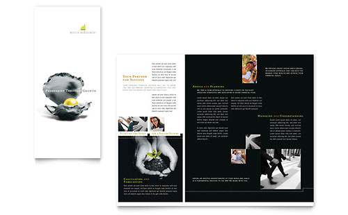 Wealth Management Services Brochure Template
