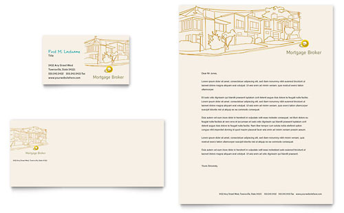 Financial Services Letterheads – Company Letterheads