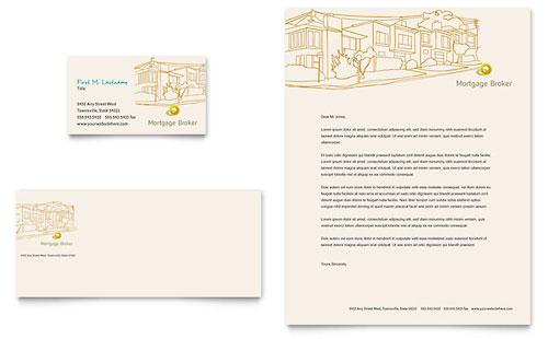 Mortgage Company Letterhead Templates – Company Letterhead Template