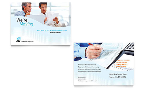 Accounting Firm - Sample Announcement Template