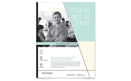 Venture Capital Firm Flyer Template