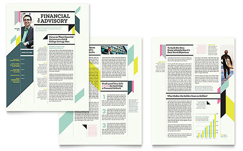 Personal Finance Newsletter Template
