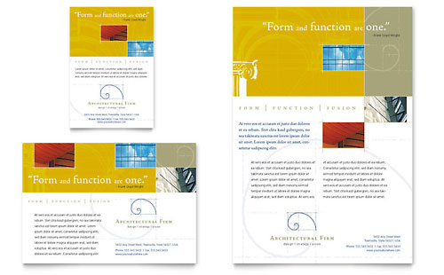 Architectural Firm Flyer & Ad Template