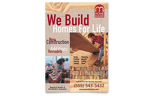 Home Builder & Contractor Flyer Template
