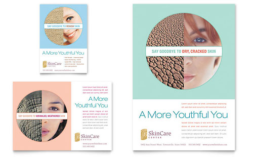 Skin Care Clinic Flyer & Ad Template