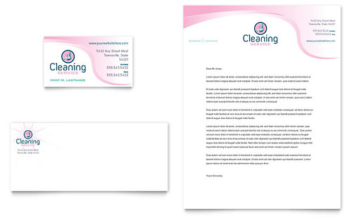 House Cleaning Service | Business Card Templates | Home Maintenance