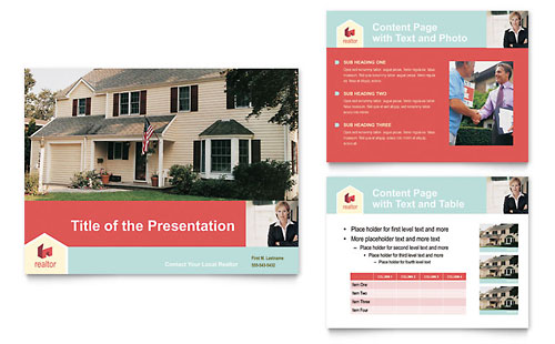 Home Real Estate PowerPoint Presentation Template