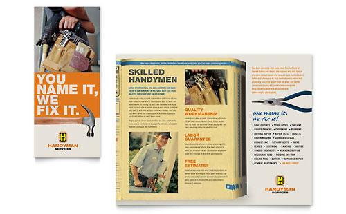 Home Repair Services Brochure Template