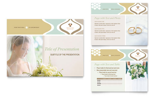 Wedding Store & Supplies PowerPoint Presentation Template