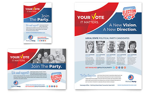 Election Flyer & Ad Template