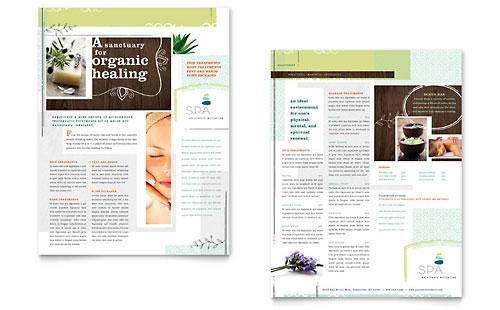 Health Beauty Sales Sheets – Sample Sell Sheet