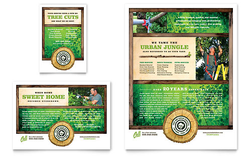 Tree Service Flyer & Ad Template