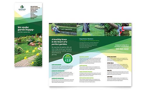 Landscaper Brochure Template
