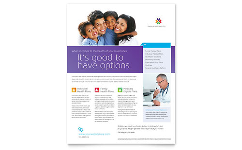 Medical Insurance - Flyer Template