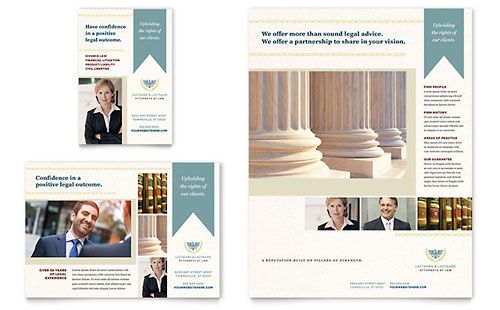 Law Firm Flyer & Ad Template