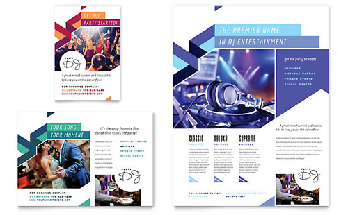DJ Flyer & Ad Template
