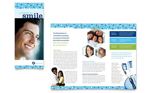 Dentistry & Dental Office - Brochure Template