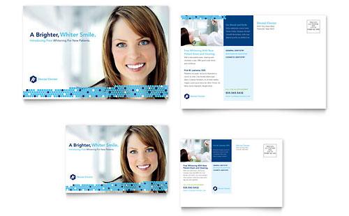 Dentistry & Dental Office Postcard Template