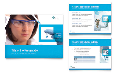 Science & Chemistry PowerPoint Presentation Template