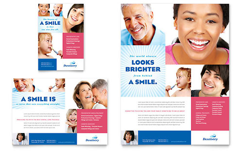 Family Dentistry Flyer & Ad Template