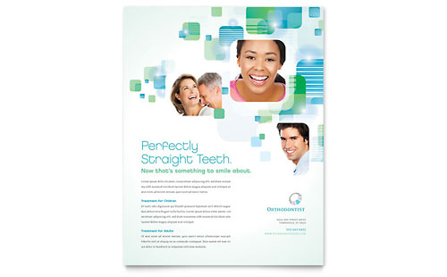 Orthodontist Flyer Template
