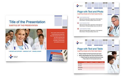 Hospital PowerPoint Presentation Template