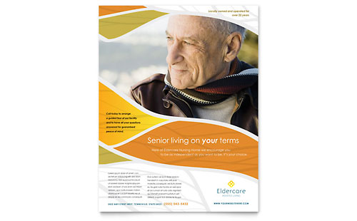 Assisted Living - Flyer Template