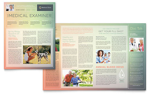 Medical Clinic - Newsletter Template