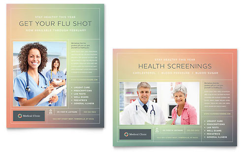 Medical Clinic Poster Template