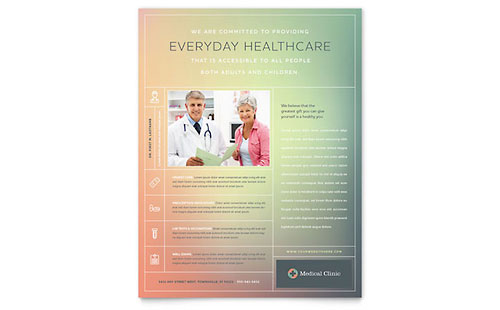 Medical Clinic - Flyer Template