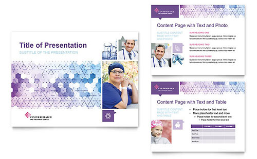 Cancer Treatment - PowerPoint Presentation Template