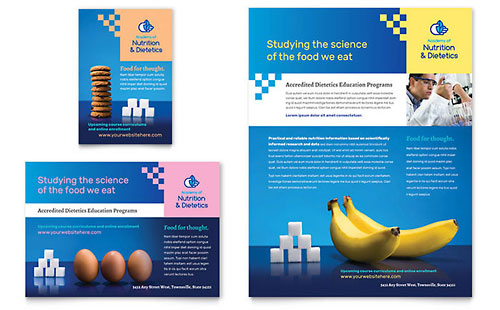 Dietitian Flyer & Ad Template