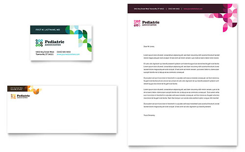 Letterhead Templates InDesign Illustrator Publisher Word – Word Letterhead Templates Free