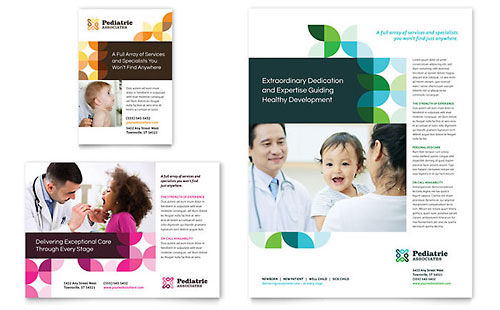 Pediatric Doctor Print Ad Template
